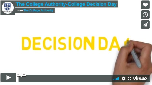 The College Authority-College Decision Day