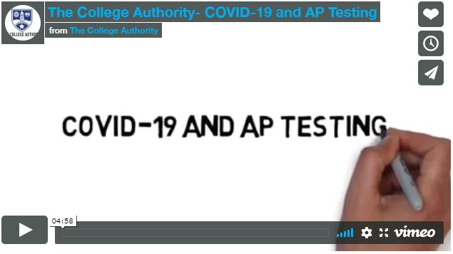 The College Authority- COVID-19 and AP Testing