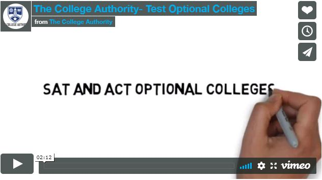 The College Authority- Test Optional Colleges