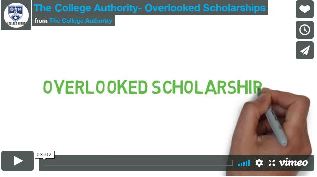 The College Authority- Overlooked Scholarships