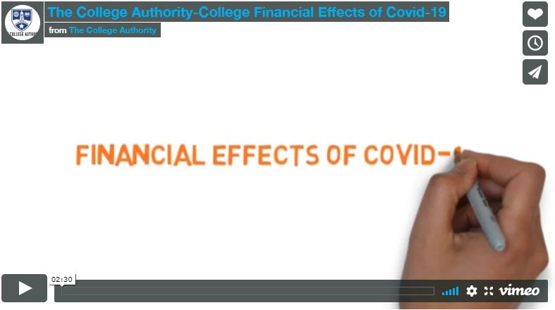 The College Authority-College Financial Effects of Covid-19